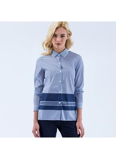 Lacoste Kadın  Gömlek CF2390.ZQL Mavi